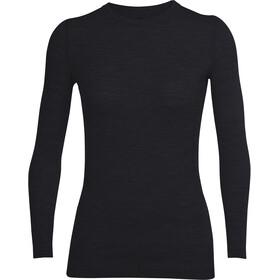 Icebreaker W's Sprite LS Crewe Shirt Black